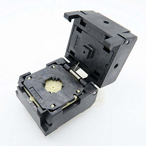 ALLSOCKET QFN32(5x5)-0.5 Testing Socket, QFN32 MLF32 WLCSP32 Package Burn-in Socket, 0.5mm Pitch IC 5x5mm IC550-0324-007-G QFN IC MCU Programming Socket(Clamshell, 0.5mm) by ALLSOCKET (Image #1)