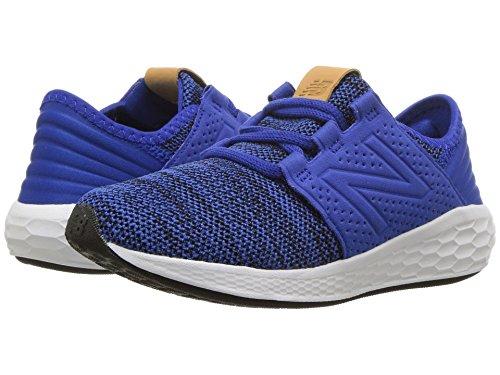 [new balance(ニューバランス)] メンズランニングシューズ?スニーカー?靴 KJCRZv2P Knit (Little Kid) Team Royal/Black 12.5 Little Kid (19cm) M