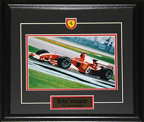 Midway Memorabilia Michael Schumacher Formula 1 Auto Motorsport Racing Driver 8x10 F1 Racer Frame