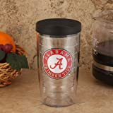 Tervis Tumbler Alabama Crimson Tide 16 oz with Black Lid