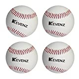 4-Pack Kevenz Prevent Injury Baseballs for Traning,Advanced Soft Practice Baseball