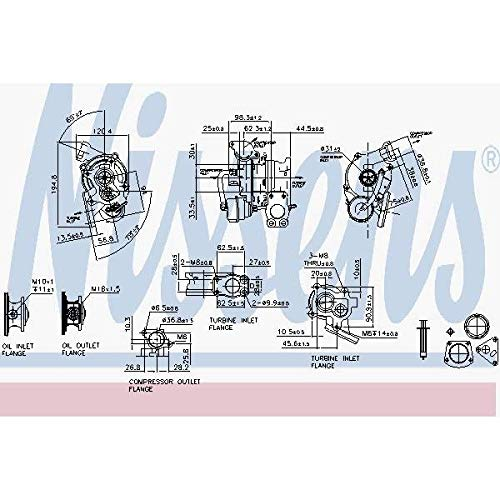 Nisss 93132 Turbo Charger: