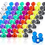 Push Pin Magnets, 120 Pack 8 Colors Refrigerator