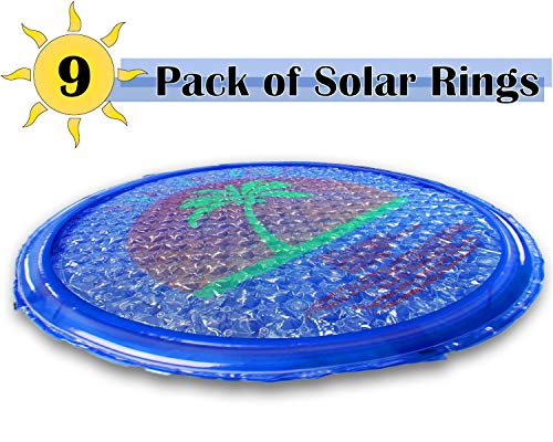 Swimming pool solar ring