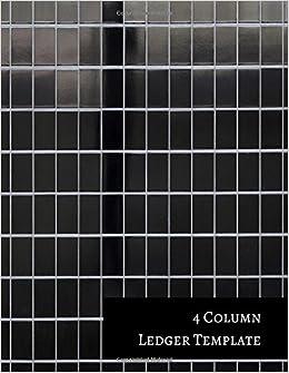 4+Column+Ledger+Template%3A+Columnar