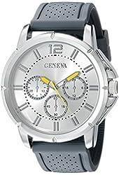 Geneva Men's FMDJM505E Analog Display Japanese Quartz Grey Watch