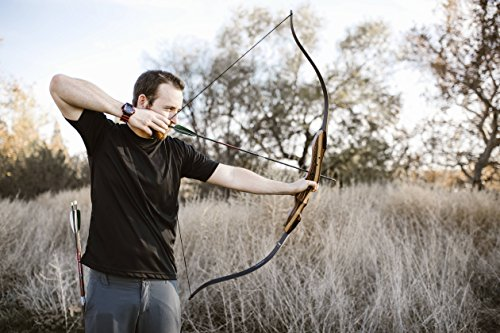 Southwest Archery TigerShark Takedown Recurve Bow - 50R w/ Stringer