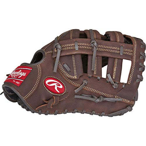 Rawlings Player Preferred Baseball First Base Mitt, Regular, Single-Post Double-Bar Web, 12-1/2 - 1st Mitt Baseball Base
