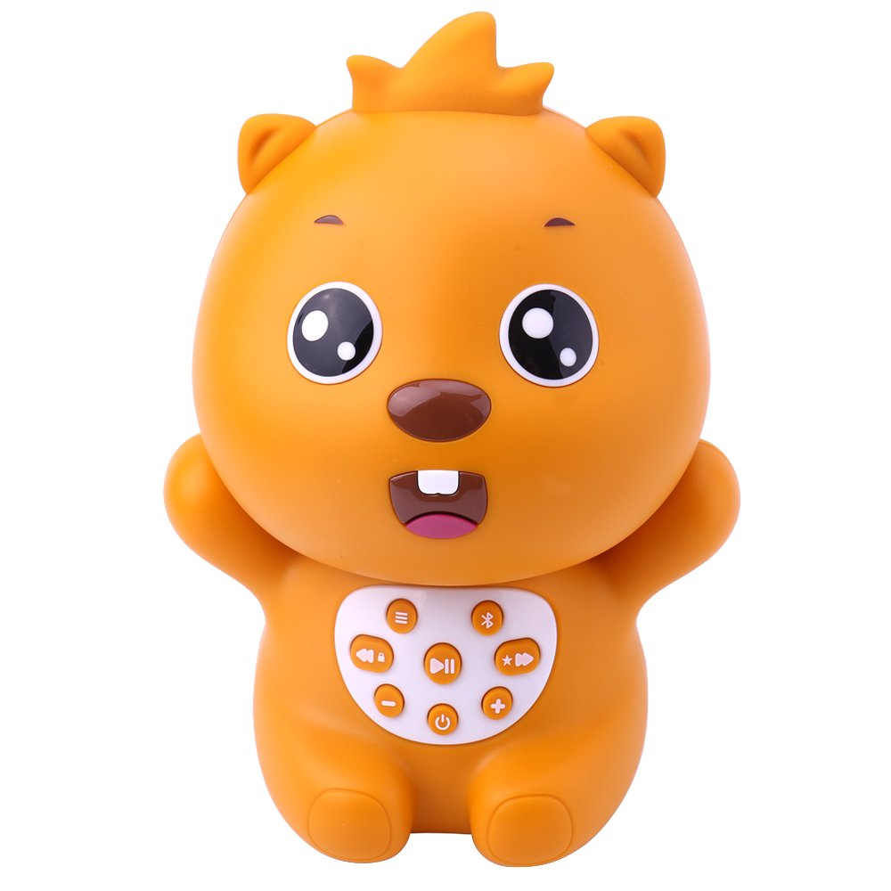Beva Wireless Cartoon Bluetooth Speaker Cute Beaver Children's Digital Player