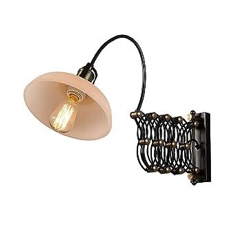 Style Industriel Réglable Lampe Murale Scissor Extensible Type D