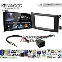 Volunteer Audio Kenwood DDX9904S Double Din Radio Install Kit with Apple CarPlay Android Auto Bluetooth Fits 2008-2010 Smart Fortwo