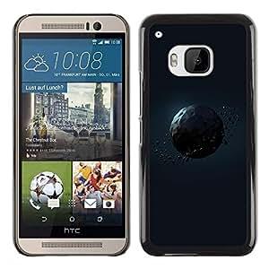 Be Good Phone Accessory // Dura Cáscara cubierta Protectora Caso Carcasa Funda de Protección para HTC One M9 // Polygon Planet