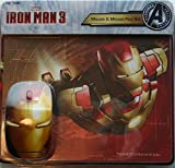 Marvel Iron Man 3 Mouse & Mouse Pad Set (Avengers Initiative)