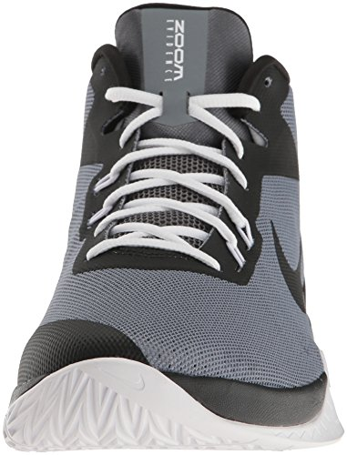 Nike Mænds Zoom Beviser Basketball Sko Køle Grå / Sort / Hvid / Mørkegrå OPa5Z6