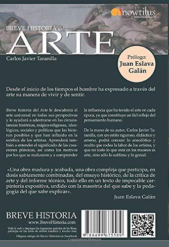 Breve historia del Arte: (Versión sin solapas): Amazon.es: Taranilla de la Varga, Carlos Javier: Libros