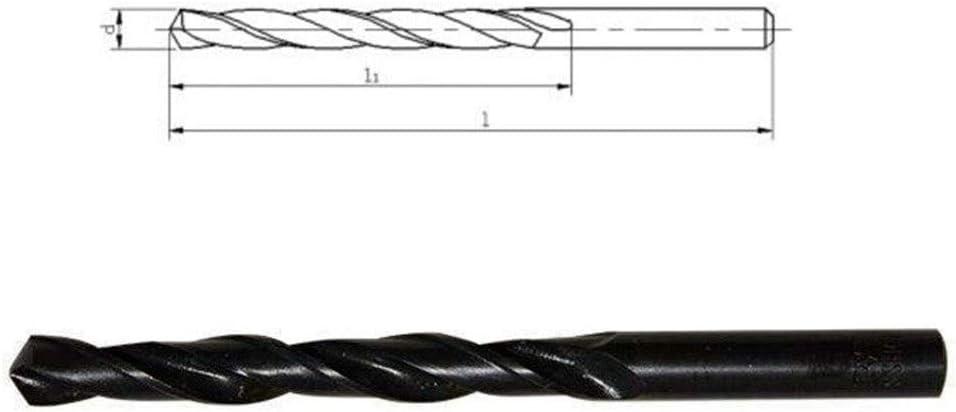 XYBW Twist Drill Bit HSS Black Oxide Tiny Micro Mini Diameter 0.2mm~20mm Hole 10 pcs for Metal Wood PVC (Color : 7.9mm) 2.3mm