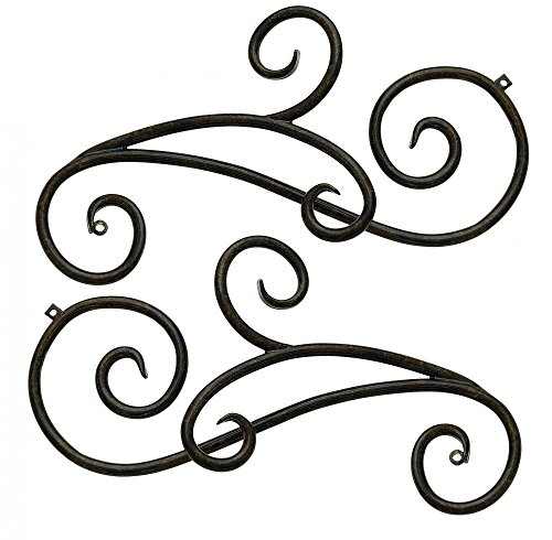 Hinkley 1433RB-SCR Traditional Scroll from Trellis collection in Bronze/Darkfinish,