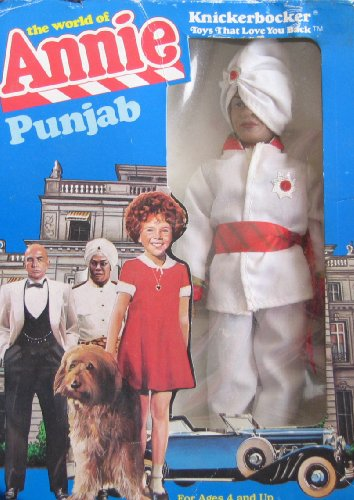 Price comparison product image Little Orphan Annie PUNJAB DOLL - The World of Annie (1982 Knickerbocker)