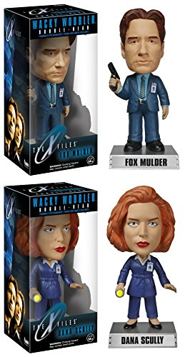 KY WOBBLER 2PC SET - FOX MULDER & DANA SCULLY (Wacky Wobbler Set)