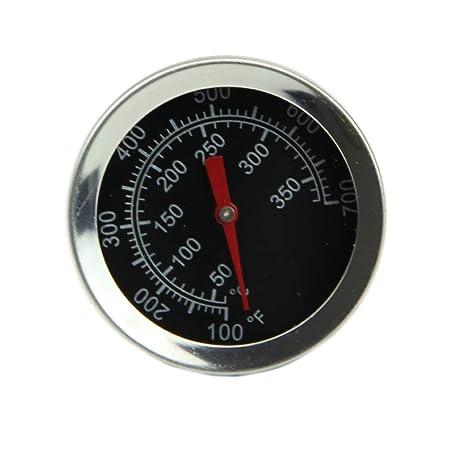 Besttse - Termómetro de acero inoxidable para horno, cocina, leche ...