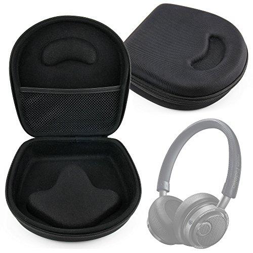 DURAGADGET Hard EVA Storage Case For Headphones/Earbuds, With Compartment (Black) For Philips: Fidelio L2, SHK 1030, Fidelio M1 BT/M2 BT by DURAGADGET