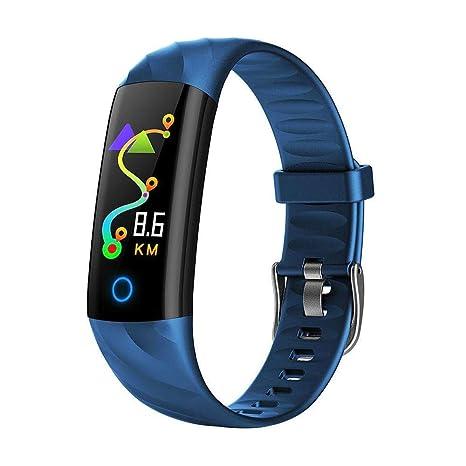 Relojes inteligentes,TechCode rastreador de actividad calorías podómetro monitor de sueño Monitor de presión arterial