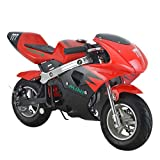 X-Pro 40cc Kids Pocket Bike Dirt Pitbike Mini 40cc Gas Bike Ride-on Bikes Ride-on Toys