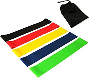 Finance Plan Workouts at Home,500/600mm Latex Fitness Workout Training Yoga Pilates Elastic Resistance Band