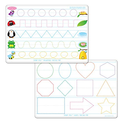 Amazon com: 7 Pack Smart Poly Early Education Learning Mats