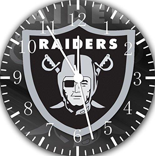 (Raiders Borderless Frameless Wall Clock E438 Nice For Decor Or Gifts)