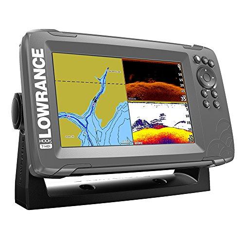 Lowrance 000-14289-001 HOOK2-7 Combo, Inland Maps, (Lowrance Marine Maps)