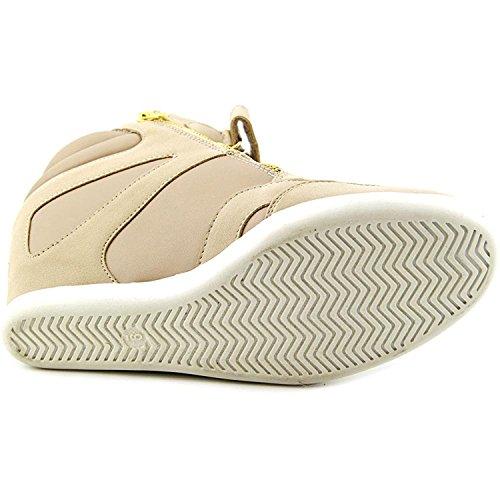 Azar Taupe Hight Top Sneakers Sodi Zipper Fashion Thalia Womens Eqw8p1AqU