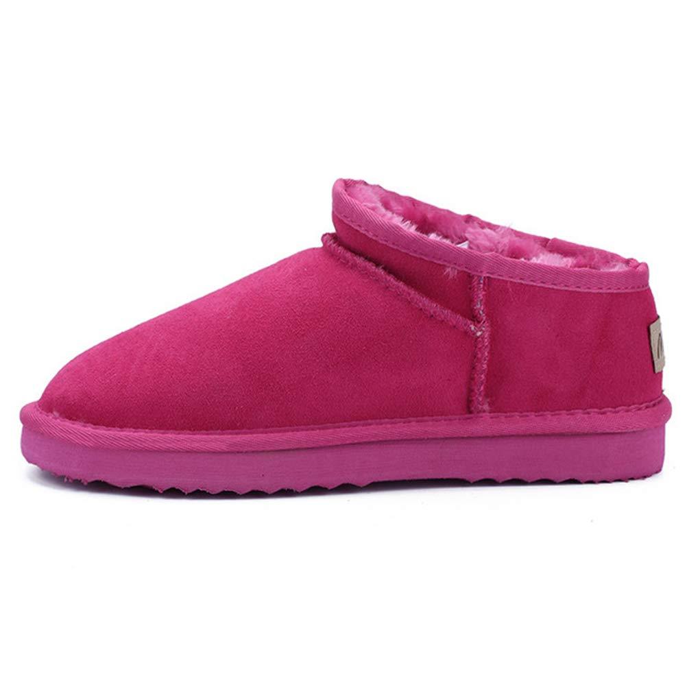 Frauen Schneeschuhe Warme Plüsch Gefüttert Winterschuhe Flache Wasserdichte Anti Slip Outdoor Walking Ankle Stiefelies
