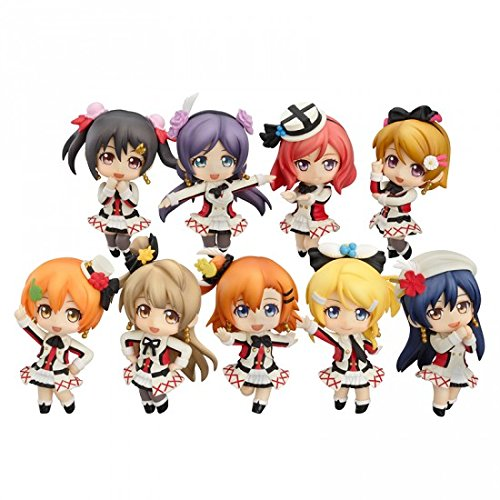 Nendoroid Pvc Figure (Love Live! Sore wa Bokutachi no Kiseki Version Nendoroid Petite PVC Figure (1 Random Blind Box))