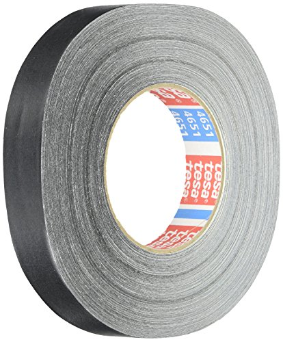 Tesa 4651 Natural Rubber Performance Acrylic-Coated Cloth Tape, 55 yard Length, 1