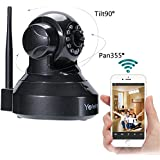 IP Camera WIFI Camera Yafeite 720P HD Wireless Network Monitoring baby/child/pet/nanny monitor Pan/Tilt,Two-Way Audio and Night Vision Home WiFi Surveillance Camera (IP2)