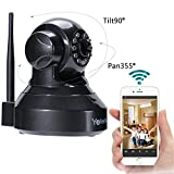 Cheap Yafeite 720P HD Wireless Network Monitoring IP Camera baby/child/pet/nanny monitor Pan/Tilt,Two-Way Audio and Night Vision Home WiFi Surveillance Camera (IP2)