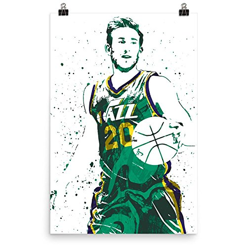 Gordon Hayward Utah Jazz Poster