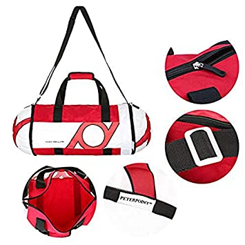 Amazon.com  TOOGOO Unisex Football Shape Gym Sport Duffel Bag Travel  Vacation Home Outdoor for Men and Women(Black+red)  Sports   Outdoors e8d8aa8c09d71