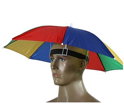 Paraguas de cabeza