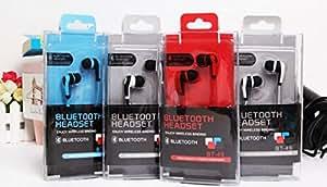 Theoutlettablet® Auriculares In-Ear conexión inalámbrica por Bluetooth HIFI Estéreo Dispone de Micrófono Manos Libres para Smartphone Xiaomi Mi Note Pro COLOR NEGRO (BT-49)