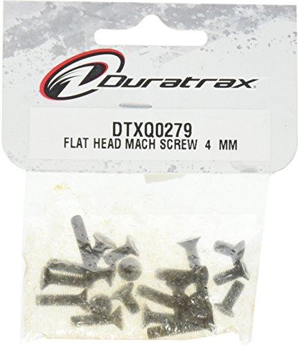 DuraTrax Flat Head Machine Screw 4mm (20)