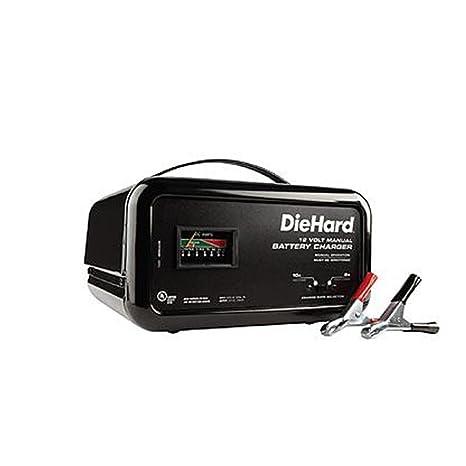 Amazon.com: Diehard 10 Amp Manual Cargador de batería ...