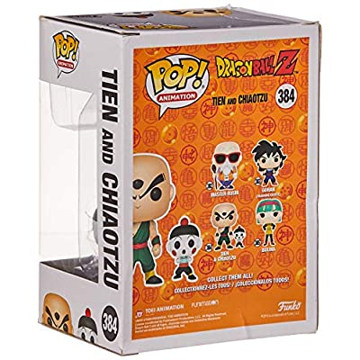 Funko Pop & Buddy: Dragonball Z - Chiaotzu & Tien Collectible Figure, Multicolor: Toys & Games