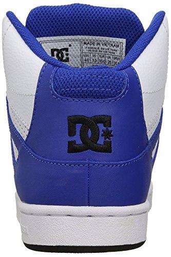 DC Jugend Rebound Skate Schuhe Schwarz / Weiß / Blau