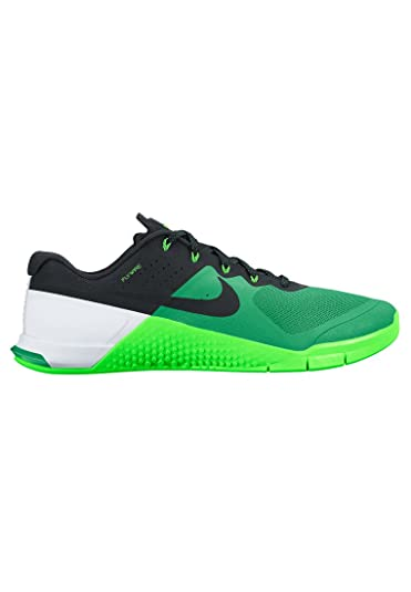 Nike Mens Metcon 2, SPRING LEAF/BLACK-VOLTAGE GREEN-WHITE, 14