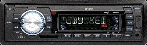 MB Quart WR1-USB Marine In Dash AM FM Media Receiver with USB and SD