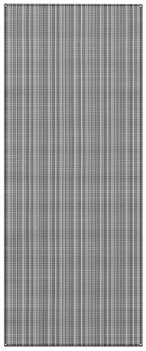 Prest-O-Fit 2-3003 Aero-Weave Breathable Outdoor Mat-6' x 15', Gunmetal Gray (Patio Prest Fit Rug O)