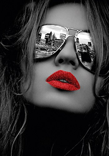 Eurographics FA-FRF1008 Fashion Art NYC Attitude, 55 x 75 cm