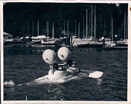 1963 Sport Fisheries Wildlife Marine Laboratory Trial Cruise Port Photo